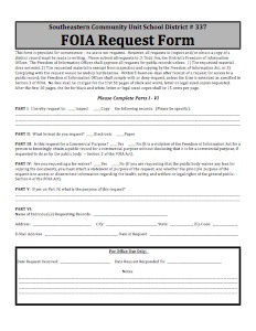 FOIA Request Form