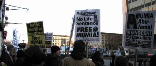 Mumia Rally Jan 2010