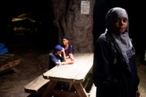 Karima-Al-Amin-in-back-yard-of-West-End-Atlanta-mosque-0811-web