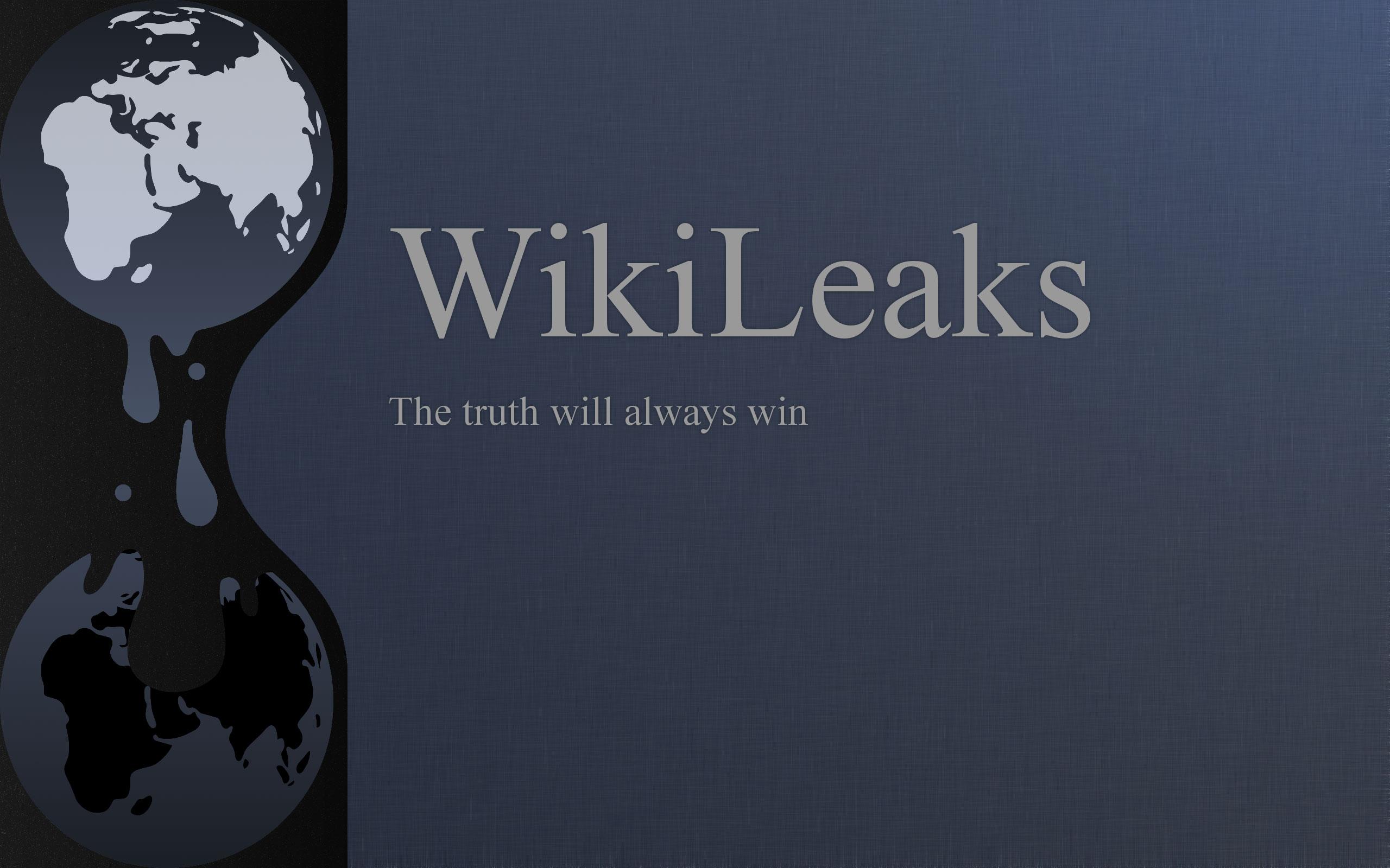 WikiLeaks-Logo-Wallpaper