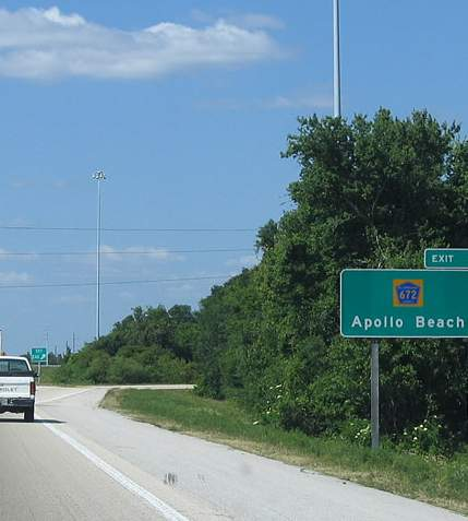 apollo beach exit florida