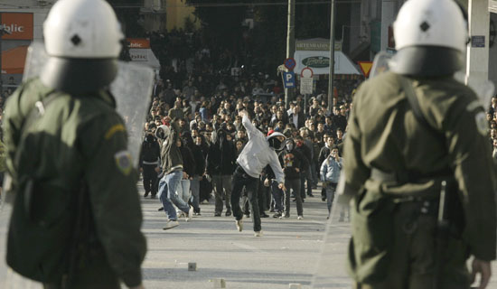 APTOPIX Greece Riots