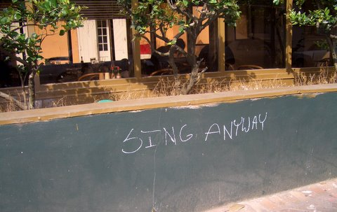 sing-anyway