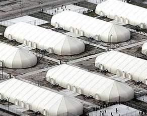 detention center tents
